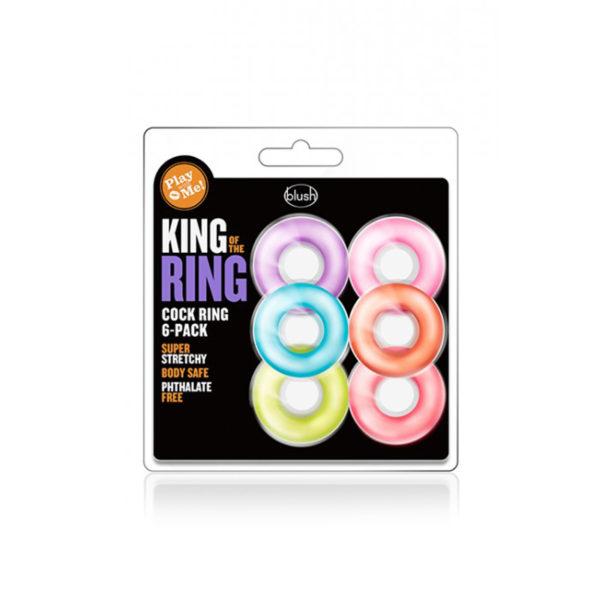 Кольцо эрекционное Cock Ring 6 Pack цена за 1 шт