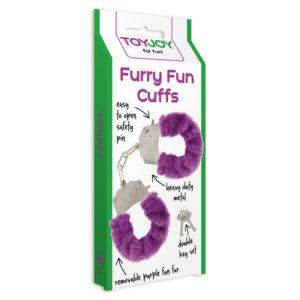 """Наручники фиолетовые Furry Fun """"Toy Joy"""""""