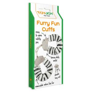 """Наручники зебра Furry Fun """"Toy Joy"""""""