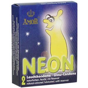 Презервативы Amor NEON светящиеся