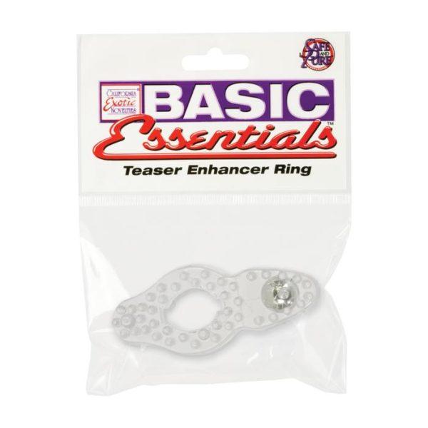 """Насадка для стимуляции клитора Basic Essentials Enhancer Ring """"Calexotics"""""""